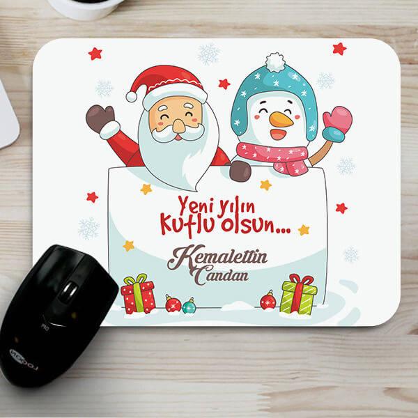 Yeni Yıla Özel Hediyelik Mouse Pad