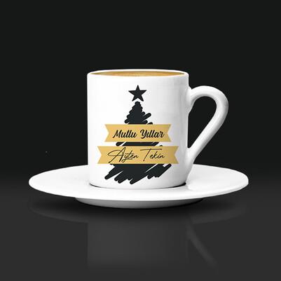 - Yeni Yıla Özel Mesajlı Kahve Fincanı