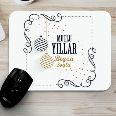 - Yeni Yıldan Dileğim Hediyelik Mouse Pad