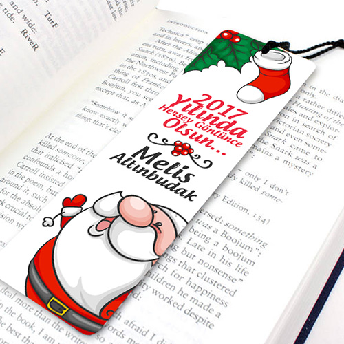 Yeni Yılın Güzel Olsun Kitap Ayracı