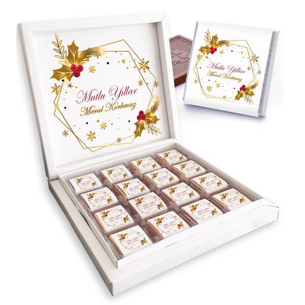 Yeni Yılın Kutlu Olsun Çikolataları