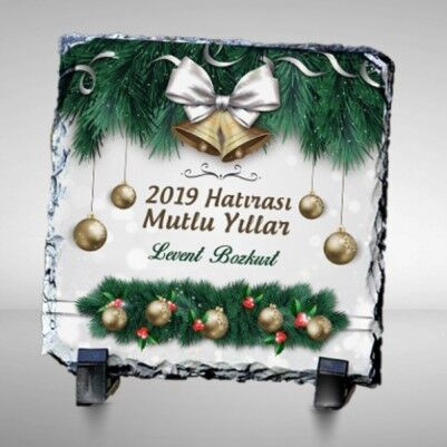 - Yeni Yılın Kutlu Olsun Taş Baskı