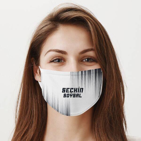 Yıkanabilir İsme Özel Ağız Maskesi