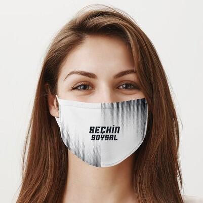 Yıkanabilir İsme Özel Ağız Maskesi - Thumbnail