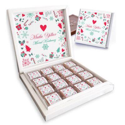 - Yılbaşı Dileklerim Mesajlı Çikolatalar