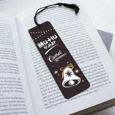 - Yılbaşı Dileklerim Tasarım Kitap Ayracı