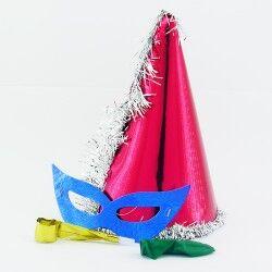 Yılbaşı Parti Malzemeleri 4'lü Set - Thumbnail