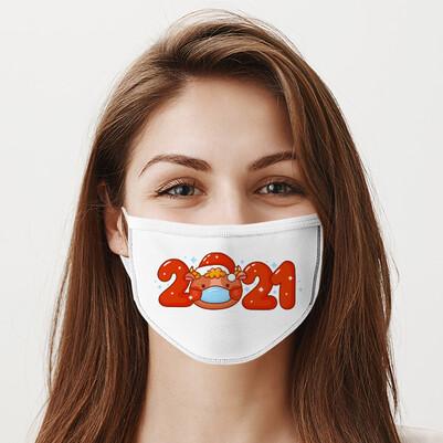 - Yılbaşı Partisi 2021 Ağız Maskesi