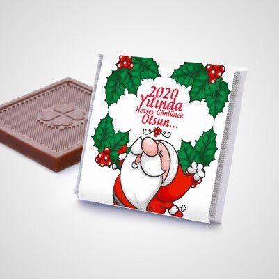 Yılbaşı Sürpriz Çikolata Konservesi - Thumbnail