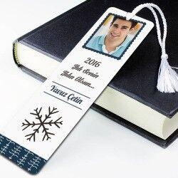 - Yılbaşına Özel Fotoğraflı Kitap Ayracı