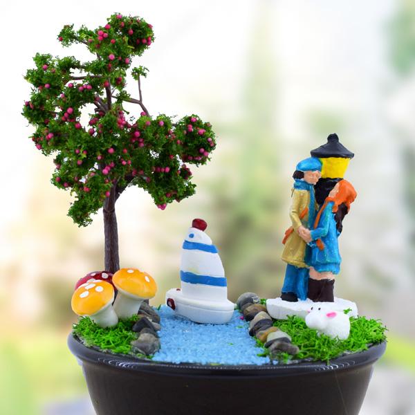 Yıldızların Altında Romantizm Mini Bahçe