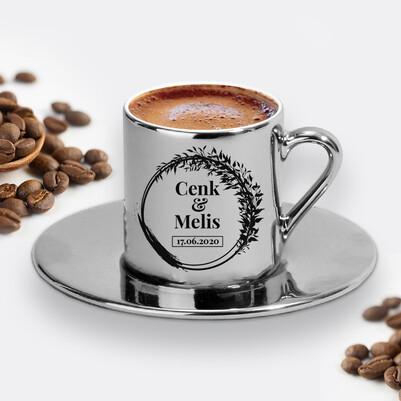 - Yıldönümü Tarihli ve İsimli Silver Kahve Fincanı