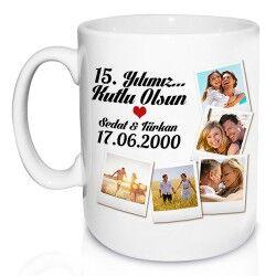 Yıldönümümüz Kutlu Olsun Aşkım Kupa - Thumbnail