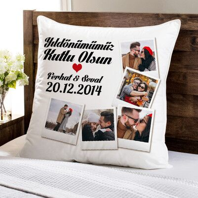 - Yıldönümümüz Kutlu Olsun Aşkım Yastık