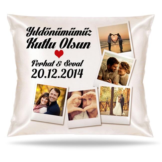 Yıldönümümüz Kutlu Olsun Aşkım Yastık