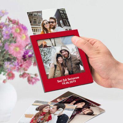 Yıldönümüne Özel Polaroid Fotoğraf Albümü - Thumbnail