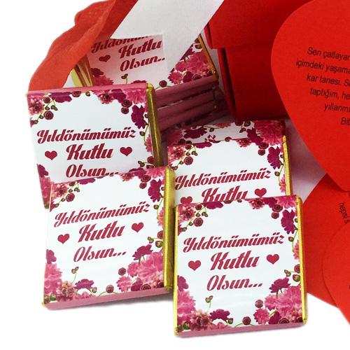 Yıldönümüne Özel Romantik Hediye Kutusu
