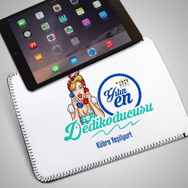 Yılın Dedikoducusu İsme Özel Tablet Kılıfı