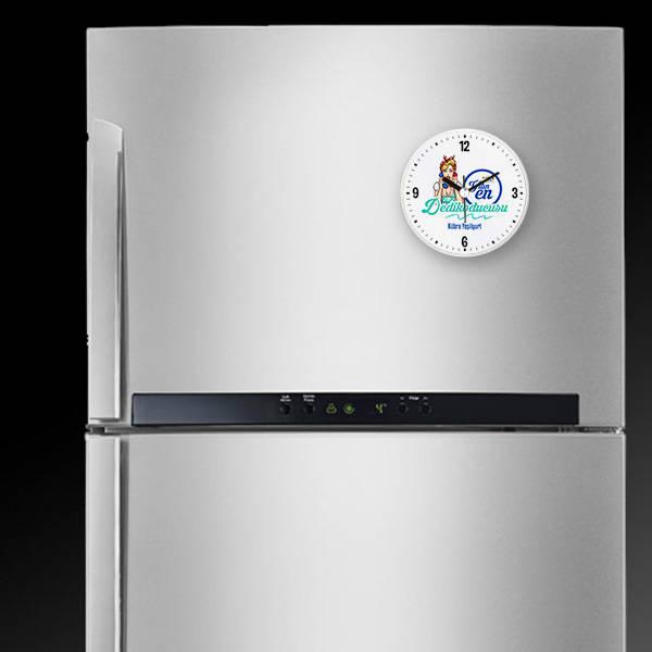 Yılın Dedikoducusu Saatli Buzdolabı Magneti