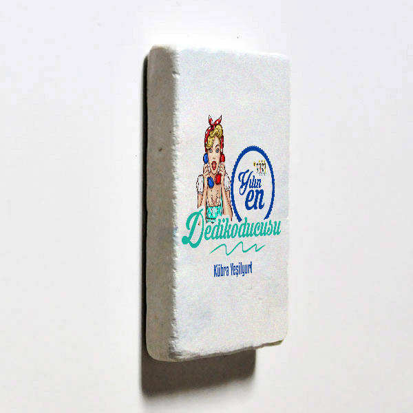 Yılın Dedikoducusu Taş Buzdolabı Magneti