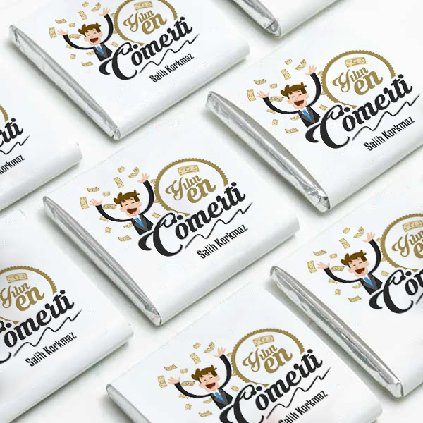 Yılın En Cömert Kişisi Çikolataları