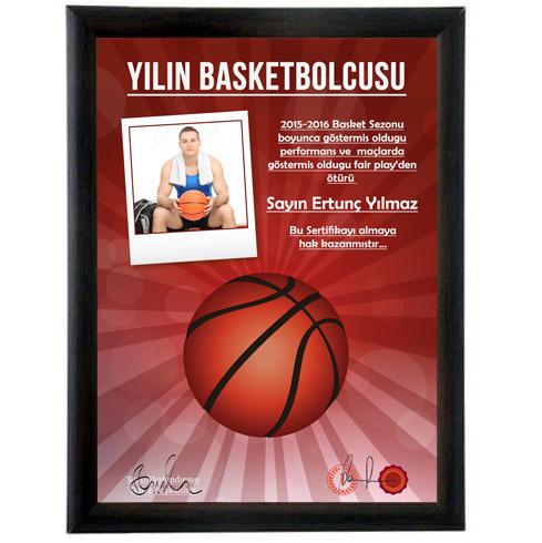 Yılın En İyi Basketbolcusu Sertifikası