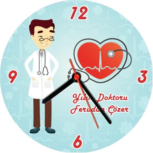 Yılın En İyi Doktoru Duvar Saati