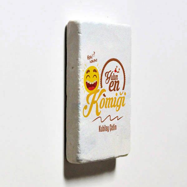 Yılın En Komiği İsme Özel Buzdolabı Magneti