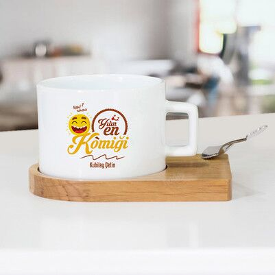 - Yılın En Komiği İsme Özel Çay Fincanı