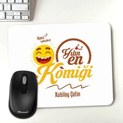 - Yılın En Komiği İsme Özel Mouse Pad