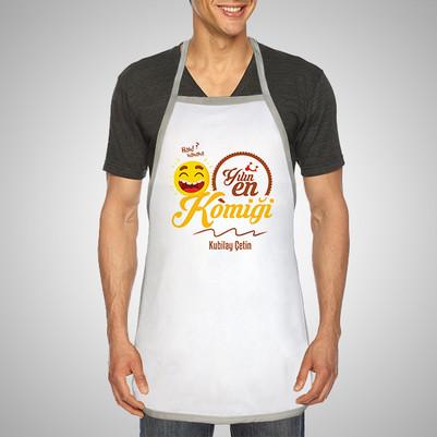 - Yılın En Komiği İsme Özel Mutfak Önlüğü