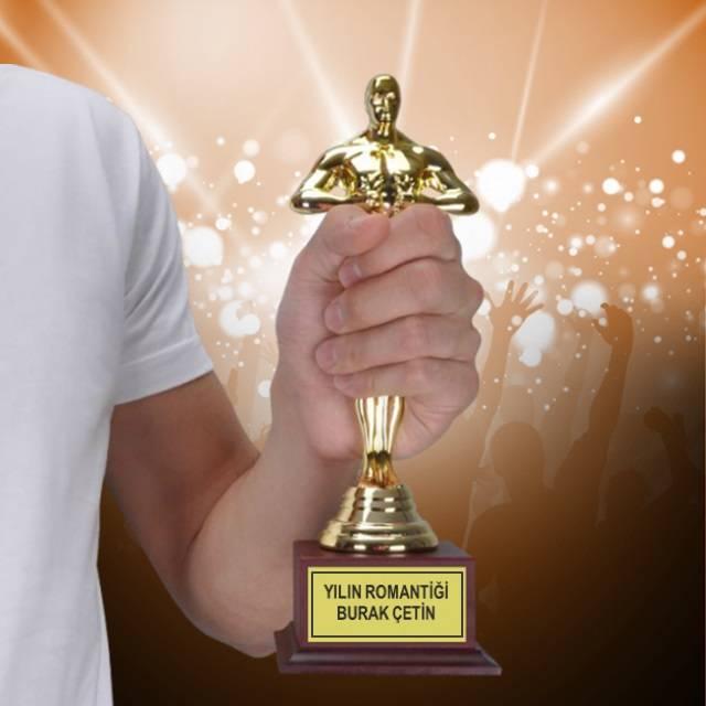 Yılın En Romantiği İsme Özel Oscar Ödülü