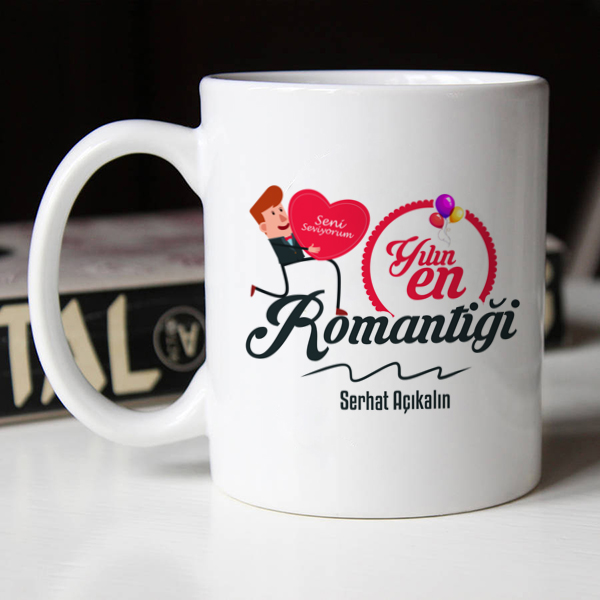 Yılın En Romantiği Kupa Bardak