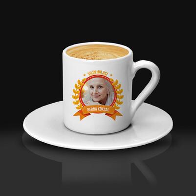 Yılın Halasına Hediye Kahve Fincanı - Thumbnail