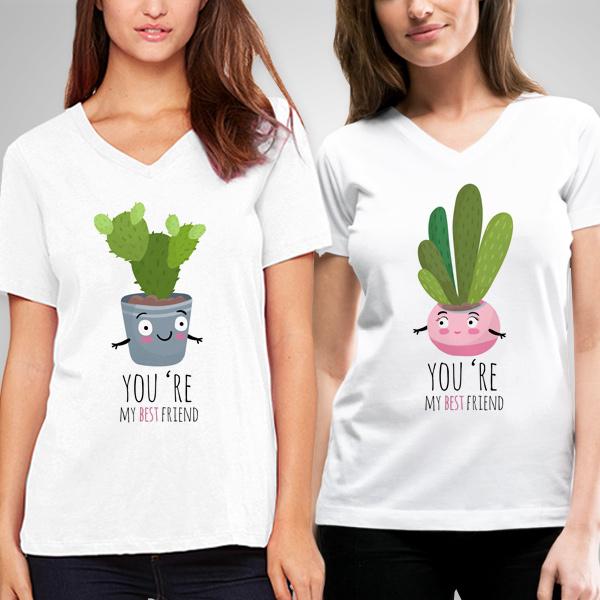 You Are My Best Friends Arkadaşlık Tişörtü